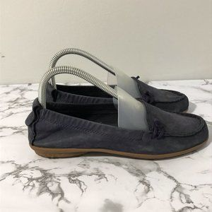 Hush Puppies Almond Toe Moccasins Leather Size 6.5